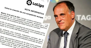 La Liga release statement on Super League emergence