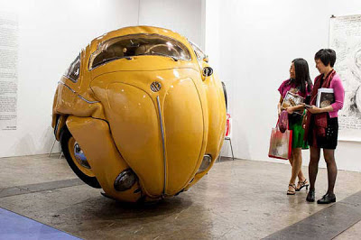 VW Beetle Sphere and Cube Version