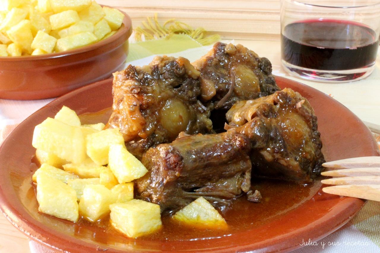 Julia y sus recetas rabo de toro estofado for Buscar comidas caseras