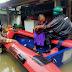 Bimas Duri Kosambi Evakuasi Balita dan lansia yang Di kepung Banjir