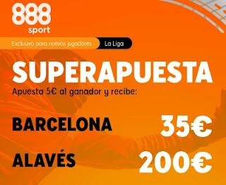 Superapuesta 888sport Barcelona v Alaves 13-2-2021