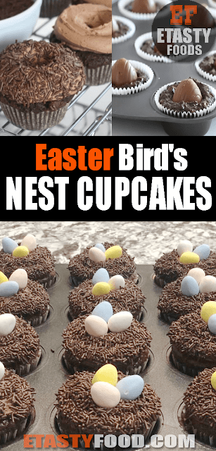 #Easter Bird's #NestCupcakes Recipe