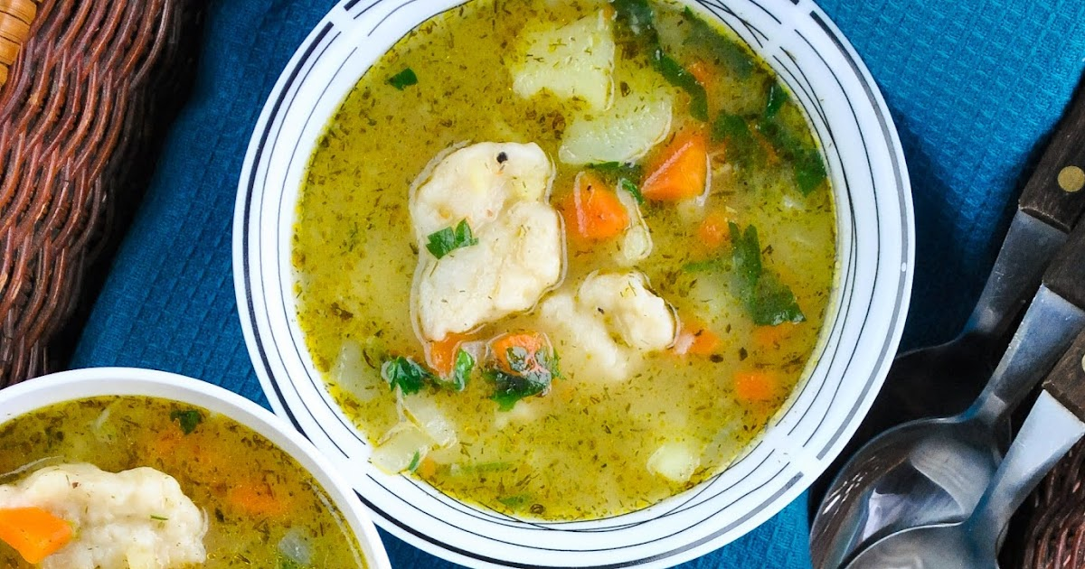 Easy vegetable and dumpling soup (+video)