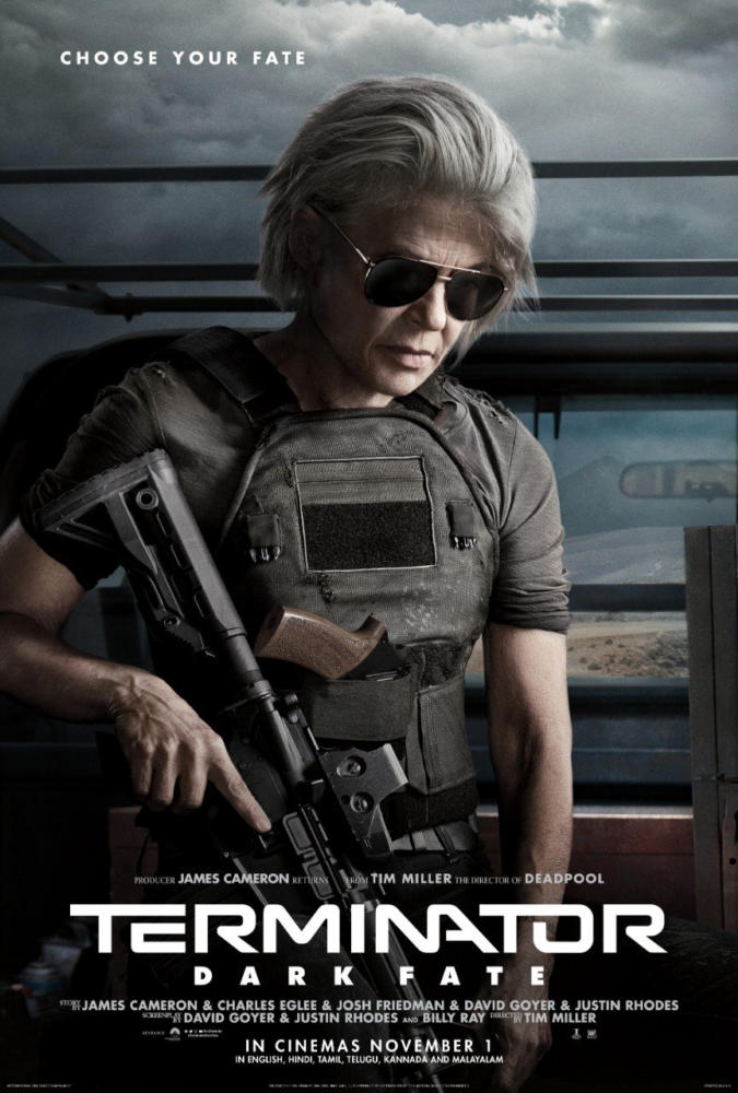 Terminator : Dark Fate New Posters launched ahead of film release