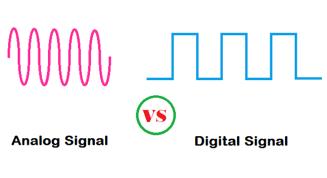 Difference between Analog and Digital Signal