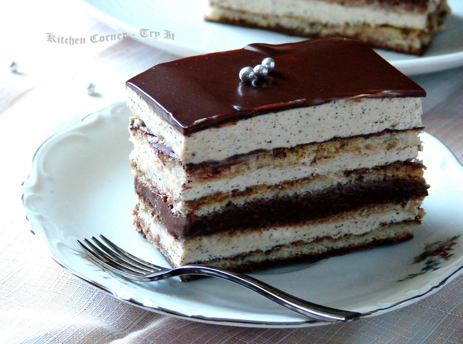 How To Make Opera Sponge Cake
