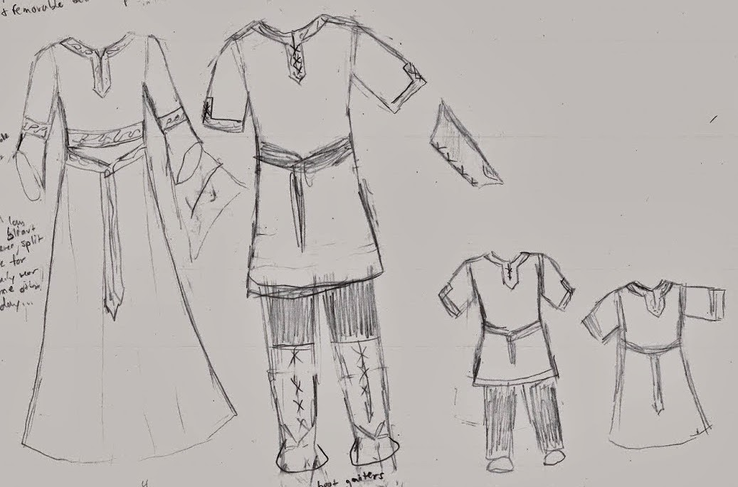 4d2f73effbd Making Rivendell in the Desert  Family Medieval Outfits  In the ...