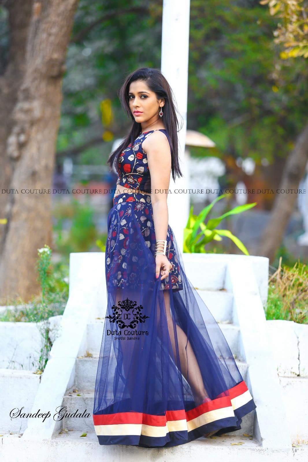 Hot Rashmi Gautam Telugu Film Industry Anchor And Actress -5276