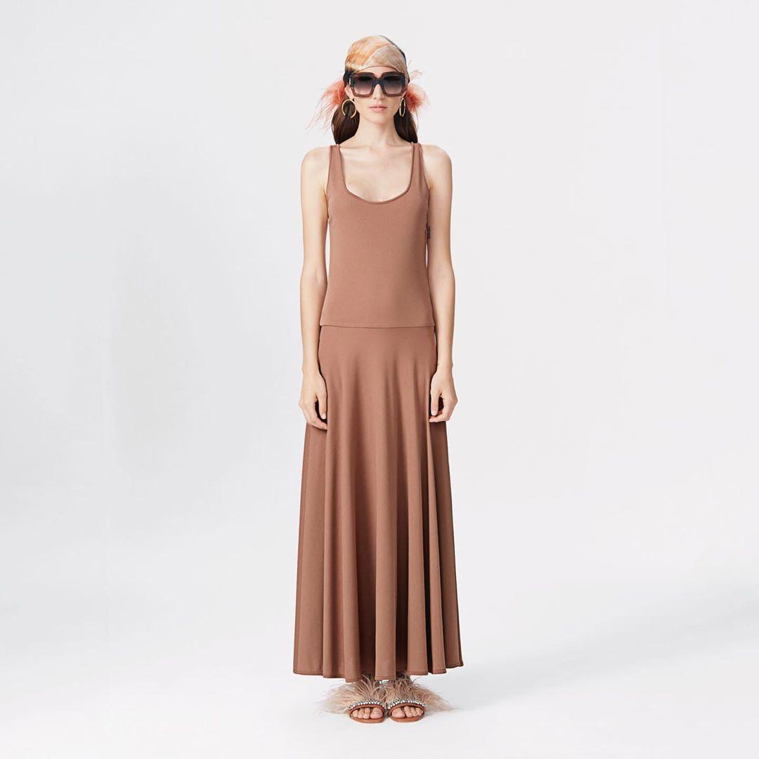 Moda primavera verano 2020 vestidos largos 2020 moda.