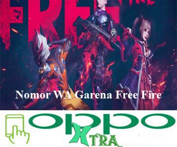 Nomor WA Garena Free Fire