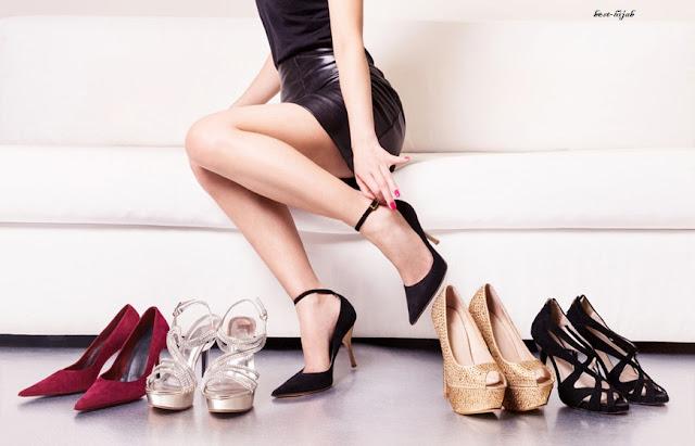 أحذية لفساتين السهرة