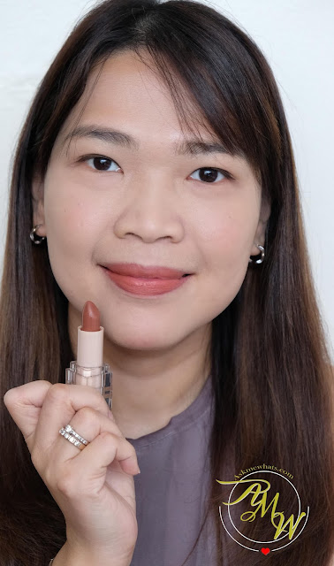 a photo of BLK Universal All-Day Lip in Toffee review