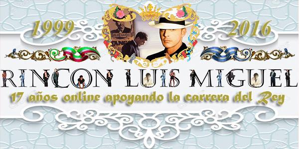 Web Rincón Luis Miguel