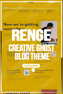 Renge - Creative Ghost Blog Theme - blogger templates for business - blogger sales page template