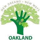 City of Oakland logo - New Dreams, New Ways.