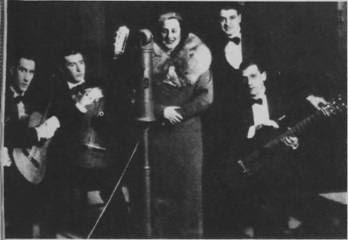 Amanda Ledesma en Radio Santa Fe en 1934