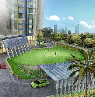 Golf Apartemen Pacific Garden Suites Alam Sutera www.rumah-hook.com