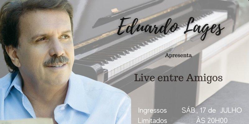 Um dos maiores e mais renomados maestros da história da música brasileira, Eduardo Lages, o maestro do rei Roberto Carlos, trará a seus fãs e admiradores mais uma Live entre Amigos. Será no próximo sábado, dia 17 de julho, a partir das 20h.