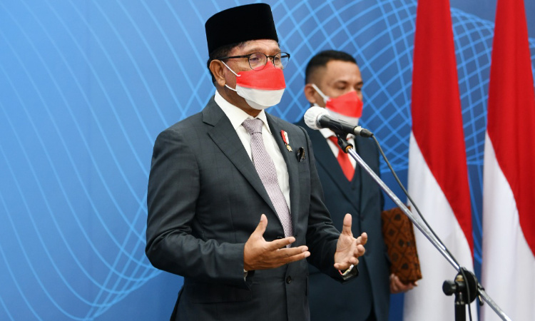 Menteri Johnny: Orkestrasi Komunikasi Publik Dukung Penanganan Pandemi