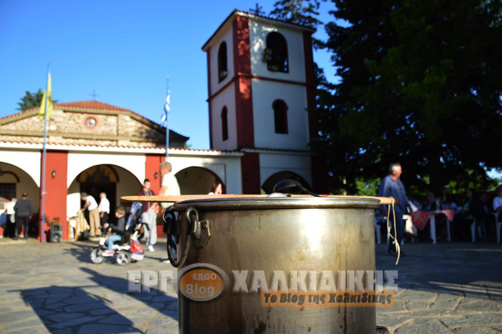 Η γιορτή της μοναστηριακής κουζίνας στην Μεγάλη Παναγία Χαλκιδικής (φώτο ρεπορτάζ)
