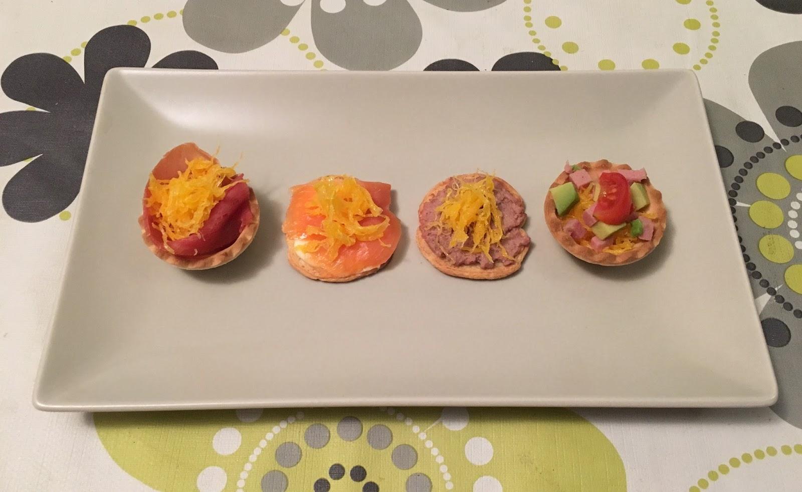 Recetas para cocinillas canap s variados con huevo hilado for Recetas para canape