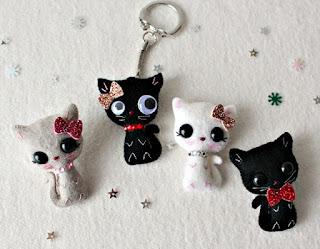 Cara Membuat Boneka Kucing Dari Kain Flanel
