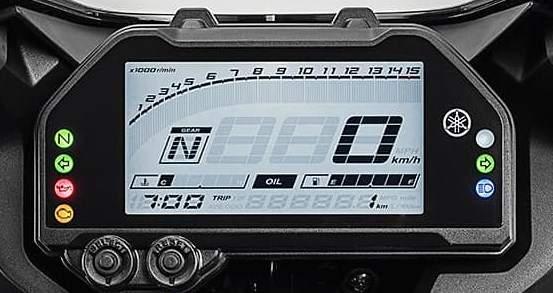 Spedometer New Yamaha R25 2018