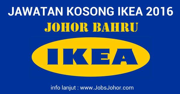 Jawatan Kosong IKEA Johor Bahru (Tebrau) Terkini Jun 2016