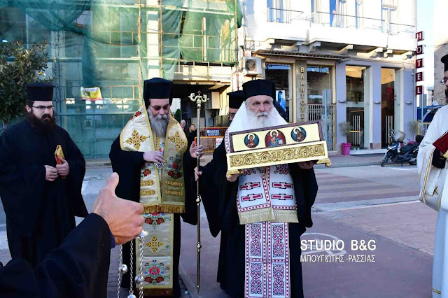 Στην Κρήτη ο Μητροπολίτης Αργολίδας Νεκτάριος με τα Ιερά Λείψανα του Αγίου Λουκά