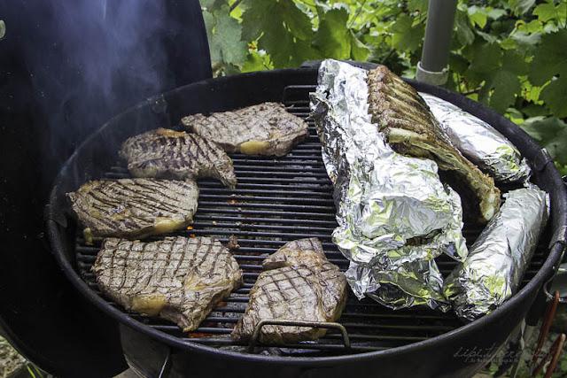 BBQ Sommerparty mit Gallo Family Wein