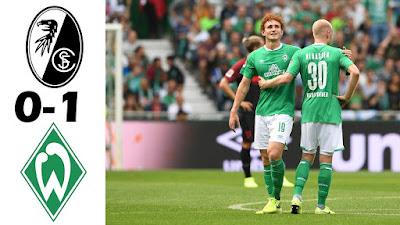 Video Freiburg 0-1 Werder Bremen