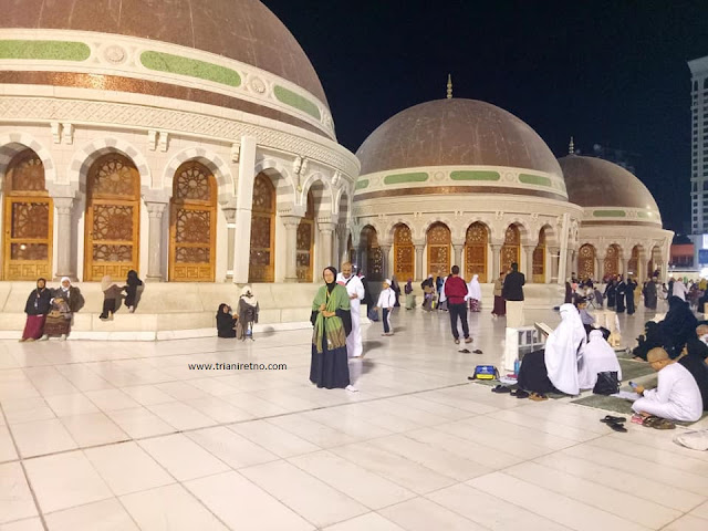 roof top masjidil haram mekah