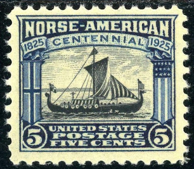 US 5 cent Restauration arrives in New York Harbor from Norway, the first organized immigration from Norway to the United States.