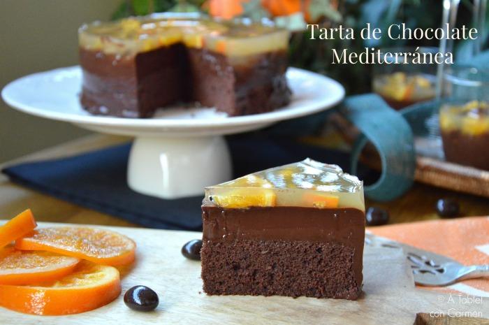 Tarta de Chocolate Mediterránea