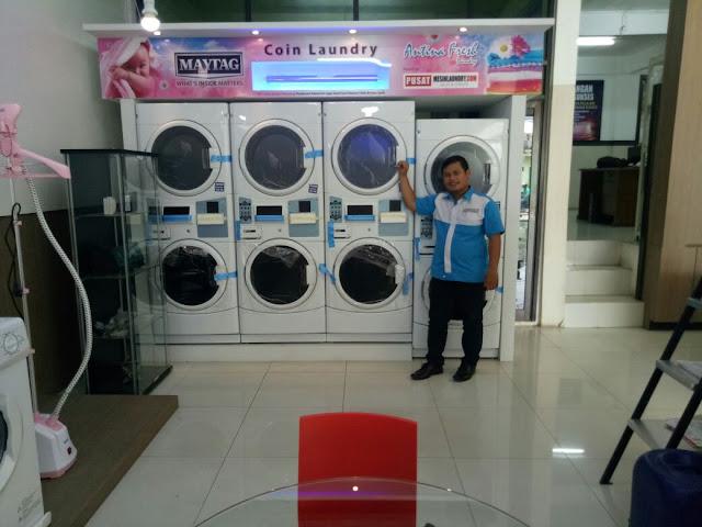 mesin cuci susun