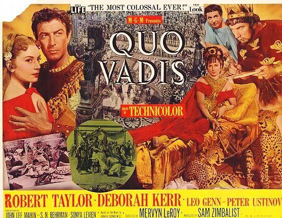 Papo de Cinema: QUO VADIS (1951)