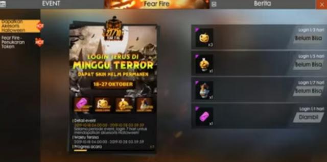 ketemu lagi dipembahasan game Free Fire Pumpkin Candy Free Fire FF, Begini Cara Mendapatkannya