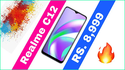 Realme C12 Price And Full Spacifications