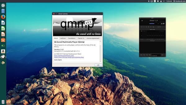 qmmp-1 Winamp alternative Qmmp 1.1.9 Audio Player for Ubuntu/Linux Mint/other Ubuntu derivatives Technology