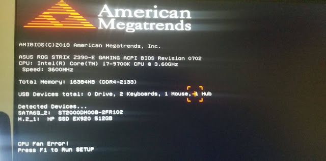 Cara Mengatasi CPU Fan Error Press F1 Saat Booting pada Laptop dan PC