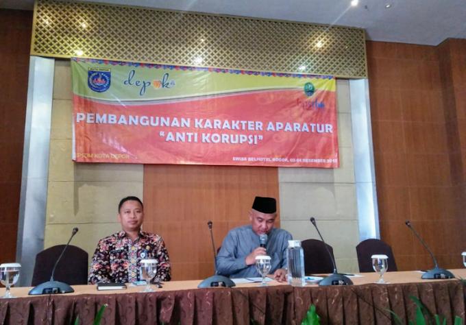 Walikota Dukung Pembinaan Anti Korupsi Kepada Perangkat Daerah