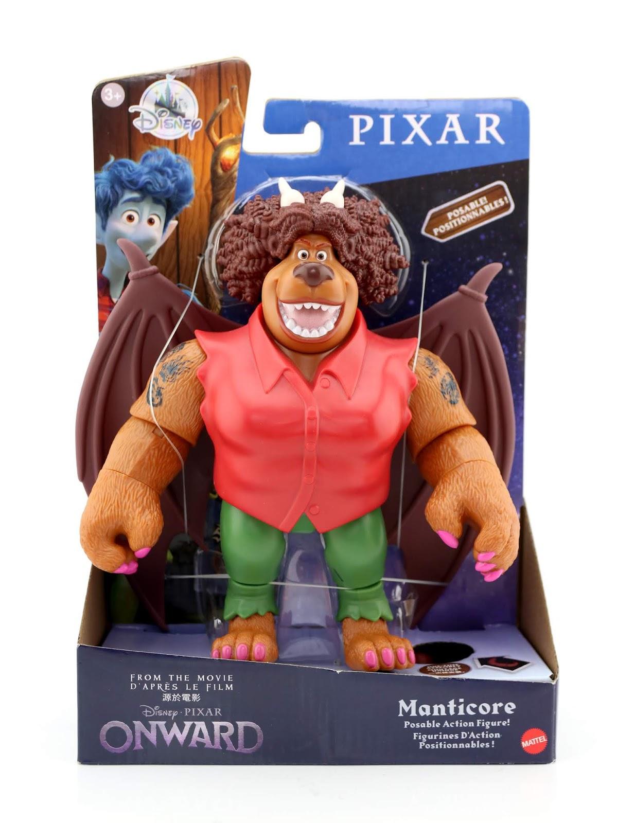 pixar onward action figures mattel manticore