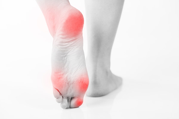 Pain or numbness in your feet legs