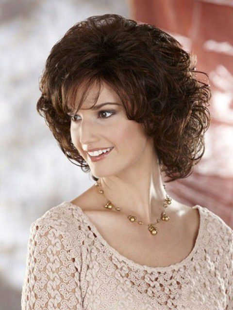 Amazing Medium Length Curly Hairstyles For Round Short Hairstyles For Black Women Fulllsitofus