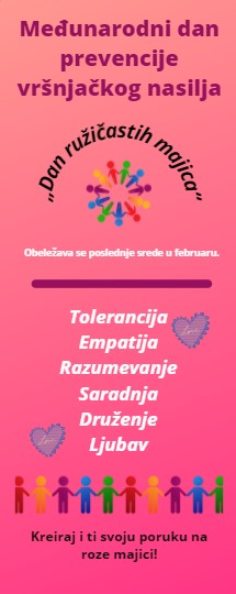 Međunarodni dan prevencije vršnjačkog nasilja - infografika
