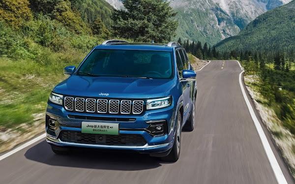Jeep Grand Commander 2022 ganha facelift e novidades - China