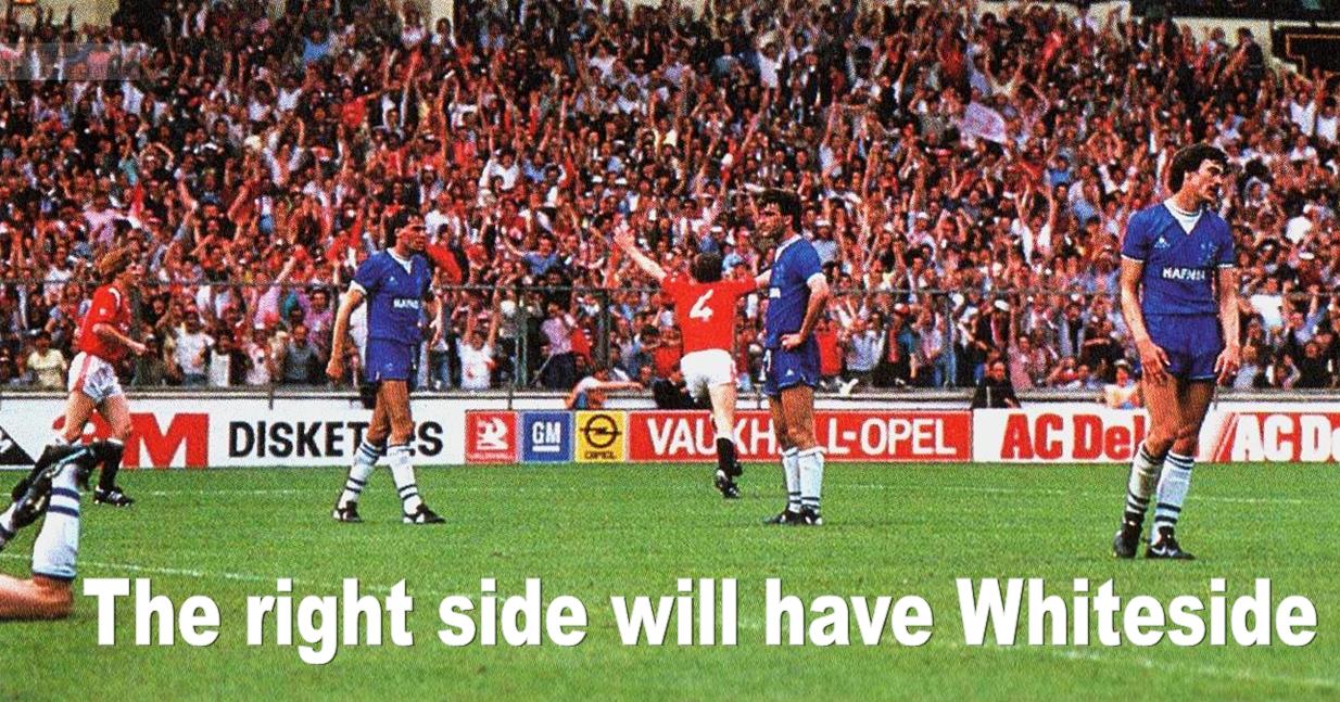 Winning goal v Everton 1985 FA Cup Final