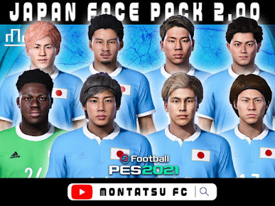 PES 2021 Japan Mega Facepack 2.0 by Montatsu