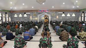 Shalat Jumat Perdana di Masjid Soedirman Mabes TNI Saat PSBB Transisi