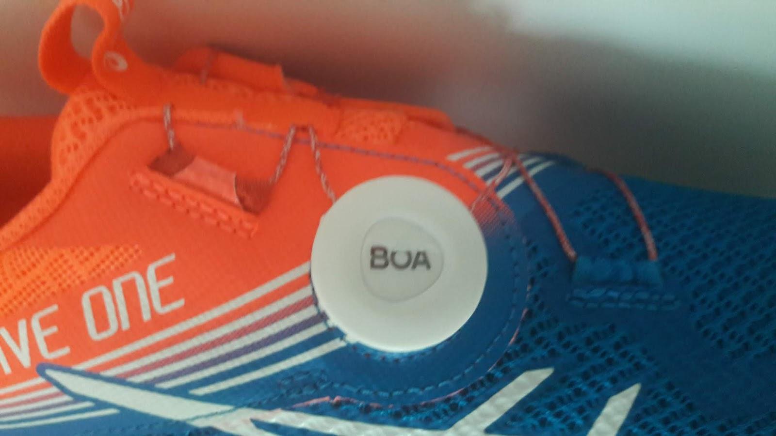 Boa system per i runner